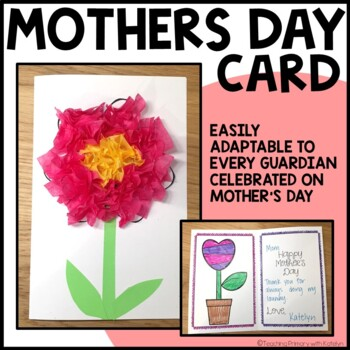 Mother's Day Card -Printable and Craft-