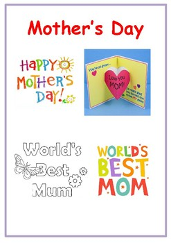 Mother's Day Card (5-page booklet)