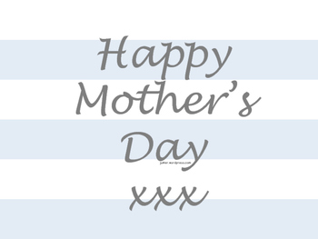 Mother's Day Card Cover or Place Mat