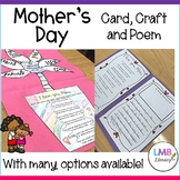 Mother's Day Poem, Card and Craft