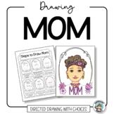 Mother's Day Card Drawing Mom - Directed Drawing with Choices