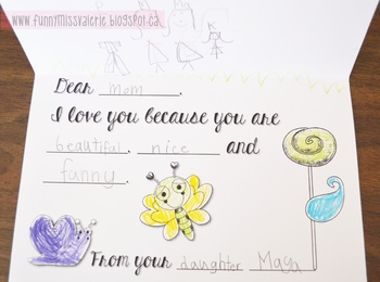 Mother's Day Card *FREEBIE*