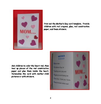Mother's Day Card - FREEBIE