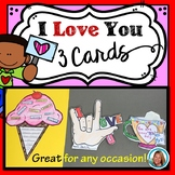 Valentine's Day Crafts with Cards