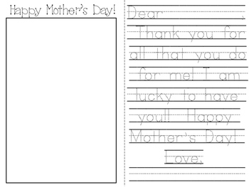 Mother's Day Card: I Love You to the Moon and Back!