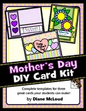 Mother's Day Card Kit - Three Complete DIY Card Templates!