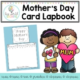 Mother's Day Card / Lapbook (Australian and American Spelling)