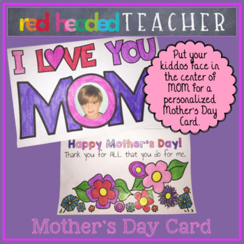 Mother's Day Craft Card