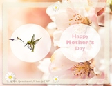 Mother's Day Card Speech Therapy Writing Activity