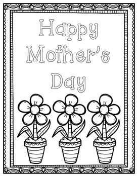 Mother's Day Card and Questionnaire