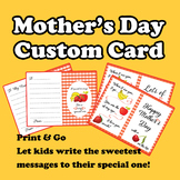 Mother's Day Card for Mom & Other Special Ones