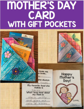 Mother's Day Card with Gift Pockets