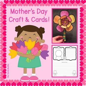 Mother S Day Craft Mother S Day Cards Kindergarten First Grade