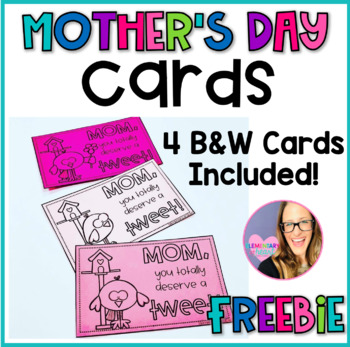 Mother's Day Cards- Bird Theme