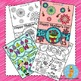 Mother's Day Cards Foldable Craft and Coloring Printable
