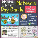 Mother's Day Cards Digital Ecards for Distance Learning