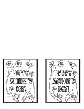 Mother's Day Cards OR Recycled Notepad Gifts