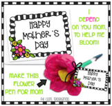 Mother's Day Cards PDF PRINTABLE (Created by P4 Clips Trio