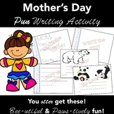 Pun Filled Mother's Day Card Template  (Figurative Language) Differentiated
