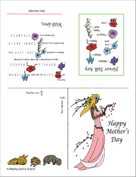 Mother's Day Card for Kids to Share (4 choices)