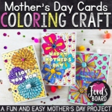 Mother's Day Cards to Color | Mother's Day Card Craft