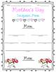 Mother's Day Cinquain Poem