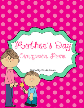 Mother's Day Cinquain Poem