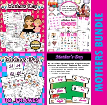 Mother's Day Classroom Center Activity Bundle