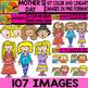 Mother´s Day - Clipart Bundle Set - # 107 Items
