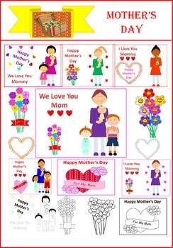 Mother's Day Clipart (US/Canadian wording)