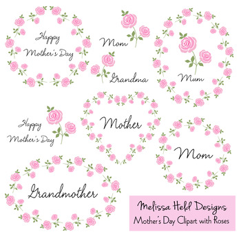 Mother's Day Clipart With Roses