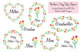 Mother's Day Clipart With Tulips