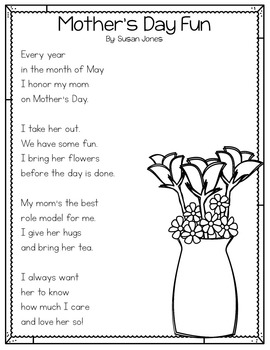 Mother's Day Close Read and Poem