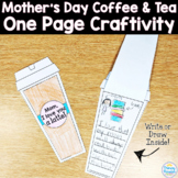 Mother's Day & Father's Day Coffee & Tea: One Page Craftivity