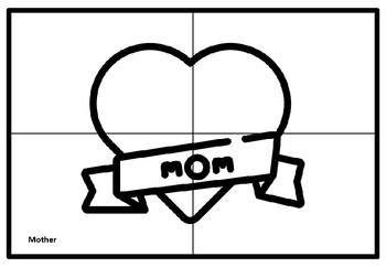 Mother's Day Collaborative Art Project, Coloring Pages, Summer Art Sub Plan
