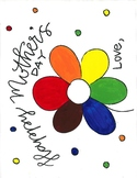 Mother's Day Color Wheel Activity