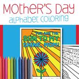 Mother's Day Color by Letter Worksheet