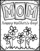 Mother's Day Coloring Card