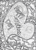 Mother's Day Coloring Page- Adult Coloring Page