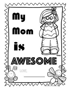 Mother's Day Coloring Page (FREEBIE)