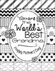 """Mother's Day Coloring Page: """"Pattern Picture"""" for Mother's Day"""