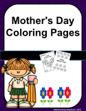 Mother's Day Coloring Pages Free