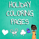 Holiday Coloring Packet - Printables