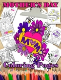 Mother's Day Coloring Pages for Adults or for FUN