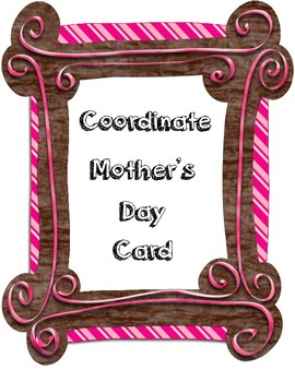 Mother's Day Coordinate Card