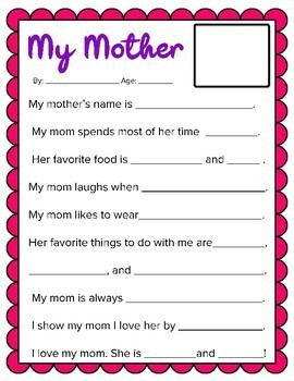 Mother's Day Coupon Book: Color AND Black & White Options, 12 Coupons Included!