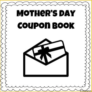 Mother's Day Coupon Book Activity