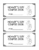 Mother's Day Coupon Book FREEBIE
