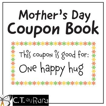 Mother's Day Coupon Book - Minimal Prep