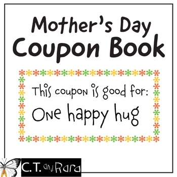 Mother's Day Coupon Book Minimal Prep